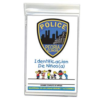 CID-SP - Child ID Kit - Spanish