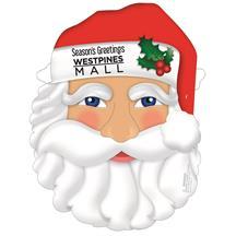 New Santa Mask W/Elastic