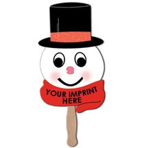 Snowman On Stick Top Hat