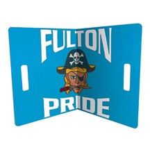 """18"""" Cheer Banner / Cheer Card Offset Printed"""