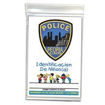 Child ID Kit Spanish Full Color