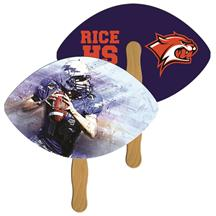 Football Fast Hand Fan (2 Sides) 1 Day