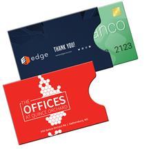 RFID Open Thumb Card Holder Full Color