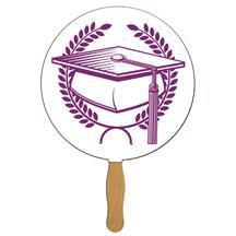 Round Graduate Hand Fan