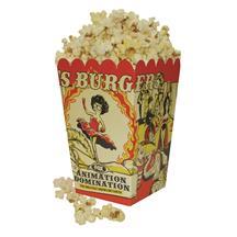 Small Scoop Popcorn Box Full Color 32 oz