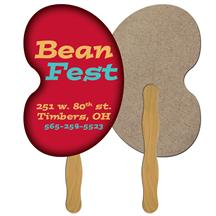 Bean Recycled Hand Fan