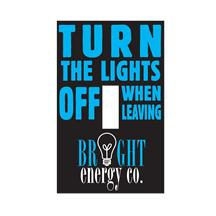 Repositionable Light Switch Cover