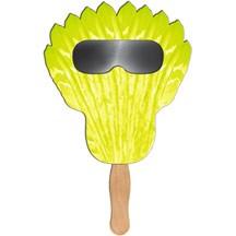 Feather Sun Shade Hand Fan