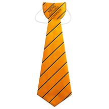 Large Tie w/ Elastic Band