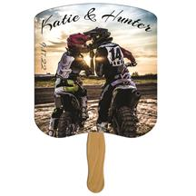 Breadslice Wedding Keepsake Hand Fan